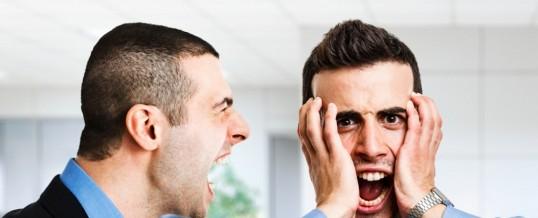 Beneficios de estar enojado