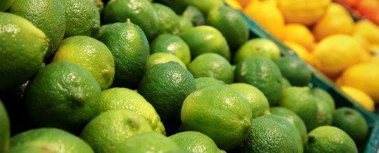 La concha de limón en una vida saludable