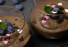 Mousse de chocolate sin chocolate – Recetas de postres saludables