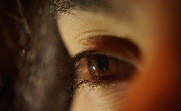 Partícula en el ojo