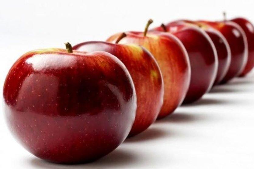Una manzana y sus propiedades