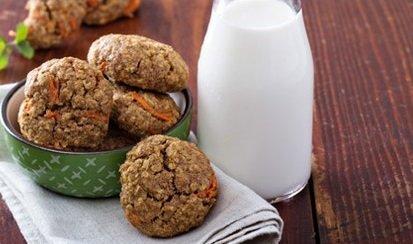 zanahoria galletas