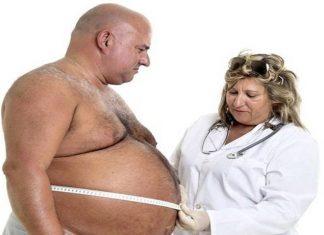 peso excesivo del hombre