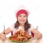 Receta de pollo teriyaki para niños