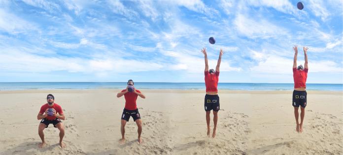 Prepara tu cuerpo para los deportes de playa