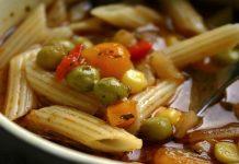 La sopa de minestrone