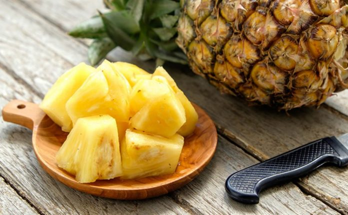 La piña un ingrediente saludable