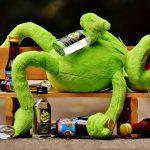 exceso de alcohol