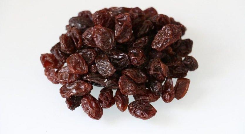 uvas pasas suministran diversos nutrientes fundamentales