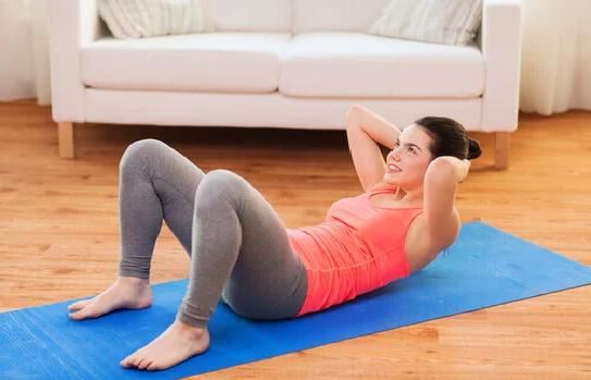 5 ejercicios para adelgazar abdomen