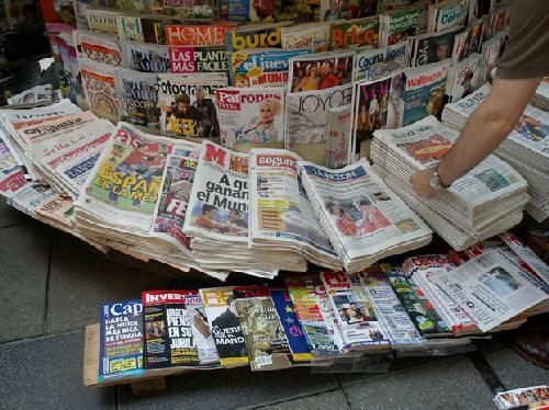 Quiosco de prensa