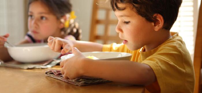 Errores en la alimentación de los niños