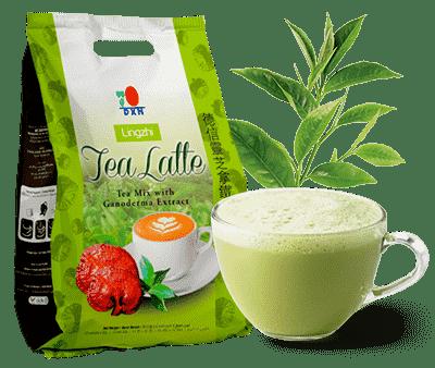 té verde con extracto de ganoderma lucidum