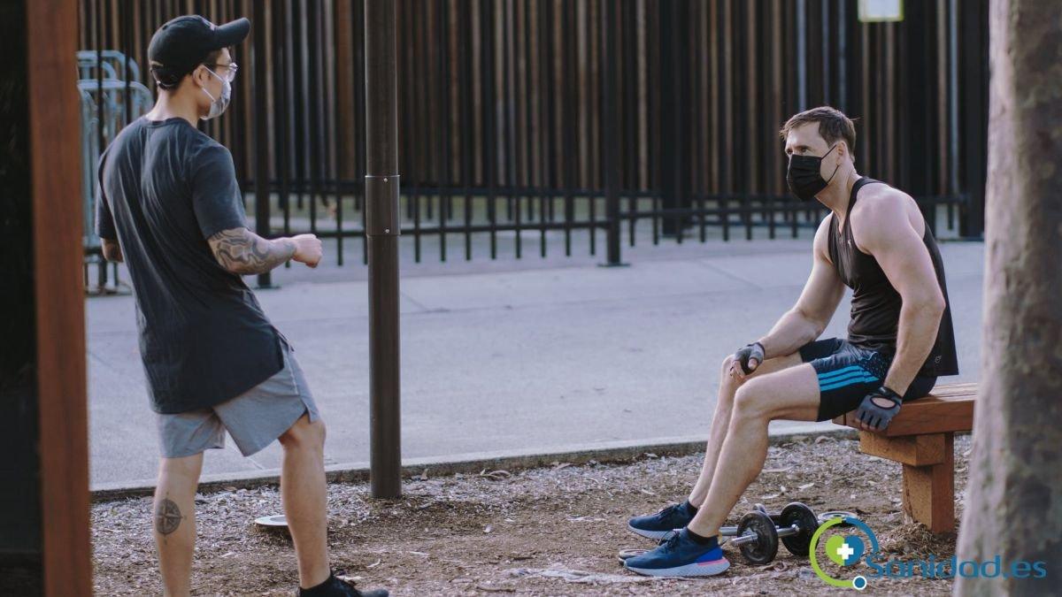 El distanciamiento social para entrenar de manera segura